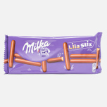 Печенье Milka Lila Stix 144g фото- 0