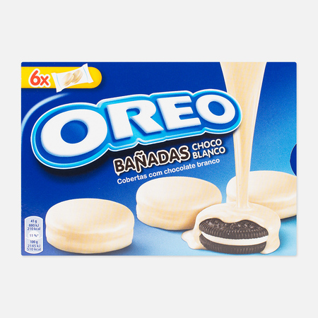 Печенье Oreo White Milk Choc 246g