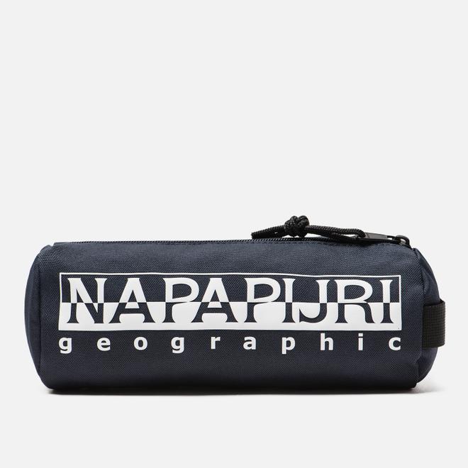 Пенал Napapijri Happy Pencil 1 Blue Marine