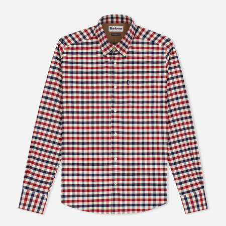 Barbour Moss Men's Shirt Red
