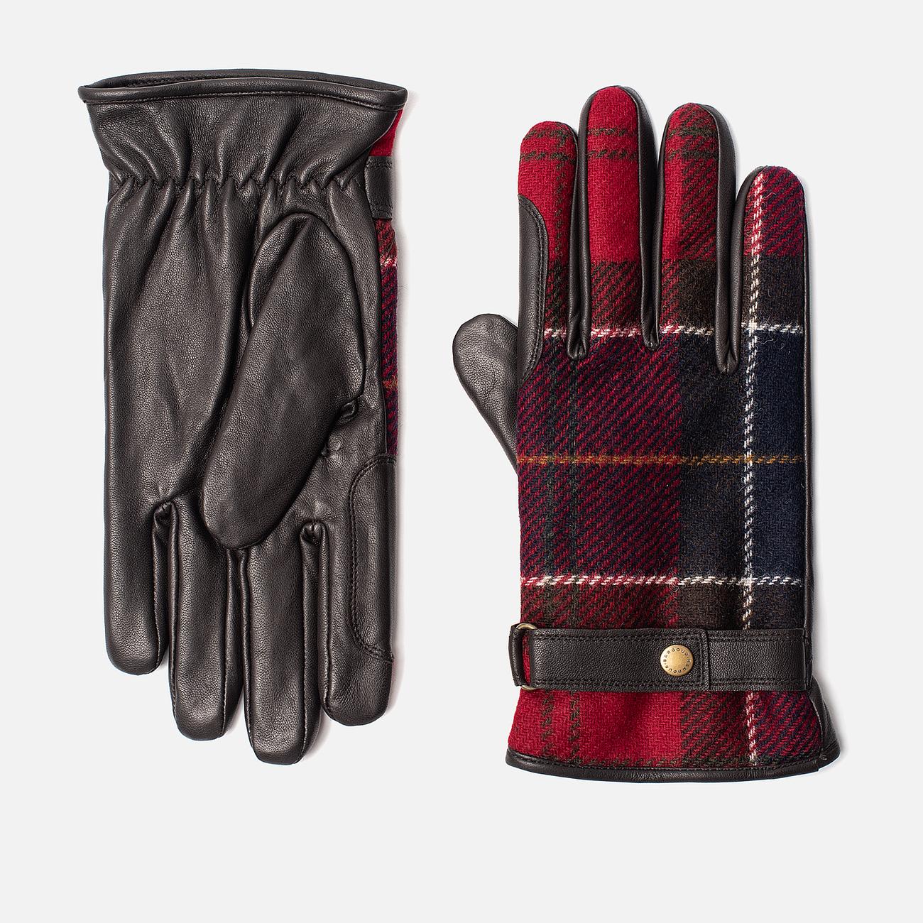 Перчатки Barbour Newbrough Brown/Red