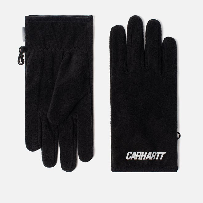 Перчатки Carhartt WIP Beaufort Black/Reflective