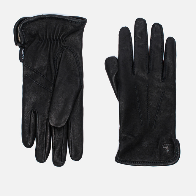 Мужские перчатки Hestra Andrew Black