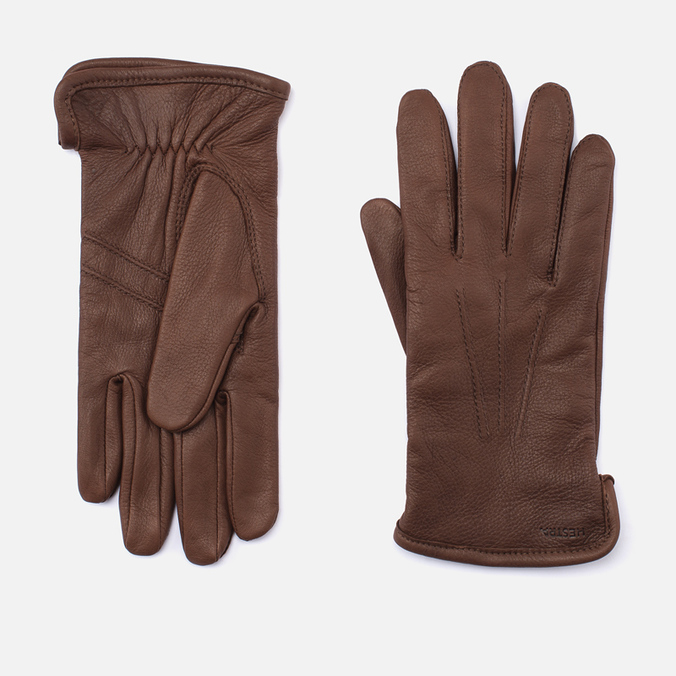 Мужские перчатки Hestra Andrew Dark Brown