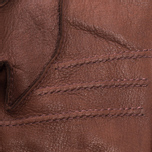 Мужские перчатки Hestra Deerskin Primaloft Ribbed Brown фото- 2
