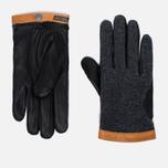 Мужские перчатки Hestra Deerskin Wool Tricot Grey фото- 0