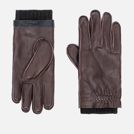 Перчатки Hestra Gagnef Dark Brown