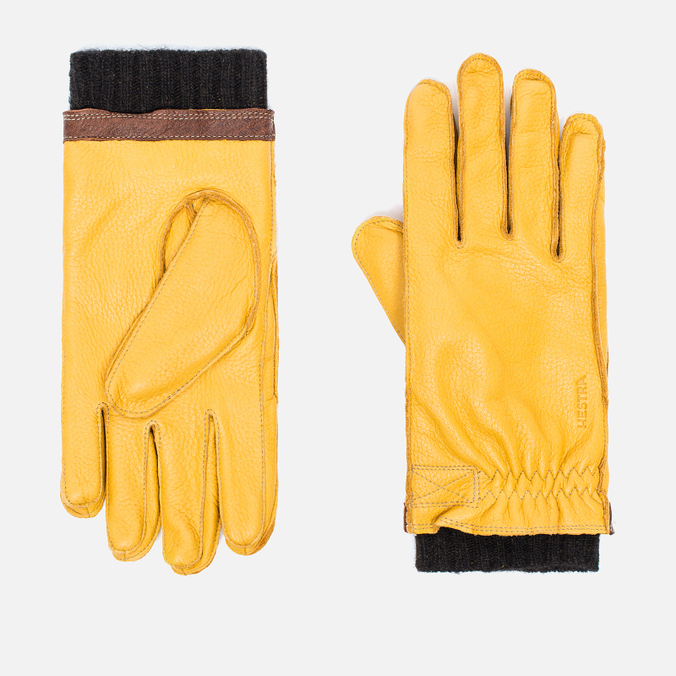 Перчатки Hestra Gagnef Yellow