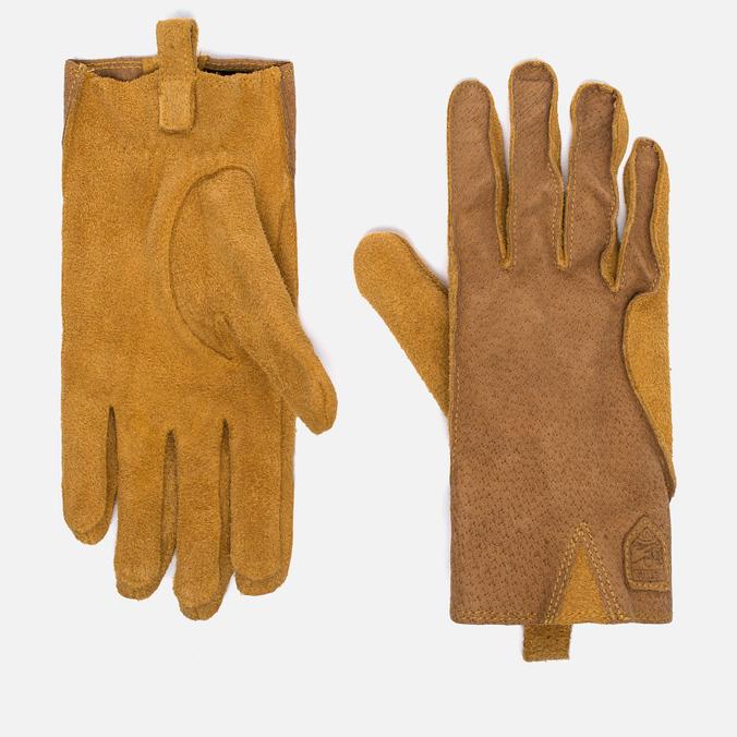 Hestra Loke Gloves Light Brown