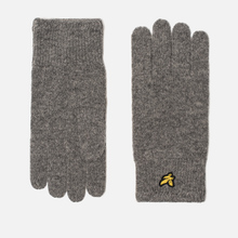 Перчатки Lyle & Scott Racked Rib Mid Grey Marl фото- 0