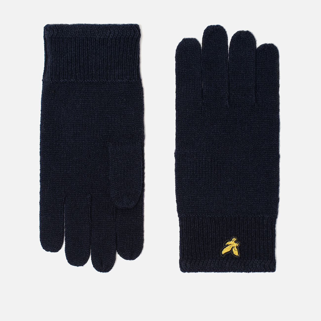 Перчатки Lyle & Scott Racked Rib New Navy
