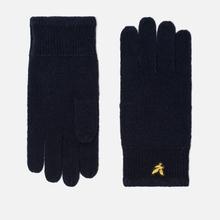 Перчатки Lyle & Scott Racked Rib New Navy фото- 0
