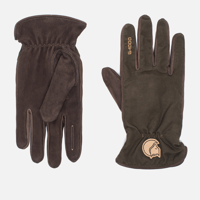 Fjallraven Forest Men's Gloves Dark Olive