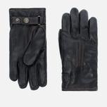 Мужские перчатки Hestra Deerskin Lambfur Black фото- 0