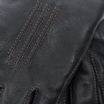 Мужские перчатки Hestra Deerskin Lambfur Black фото- 2