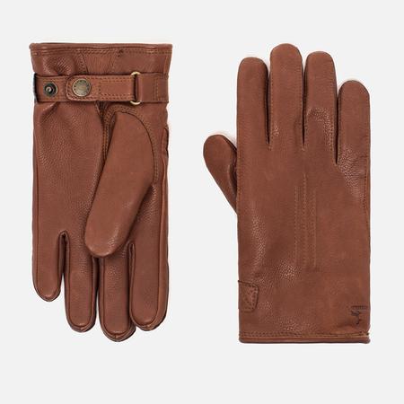 Мужские перчатки Hestra Deerskin Lambsfur Lined Brown