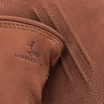 Мужские перчатки Hestra Deerskin Lambsfur Lined Brown фото- 1