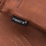 Мужские перчатки Hestra Deerskin Lambsfur Lined Brown фото- 3