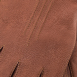 Мужские перчатки Hestra Deerskin Lambsfur Lined Brown фото- 4