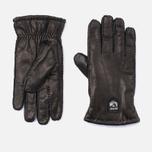 Мужские перчатки Hestra Lambskin Cork Black фото- 0