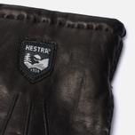 Мужские перчатки Hestra Lambskin Cork Black фото- 1
