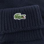 Мужские перчатки Lacoste Green Croc Wool Navy фото- 2