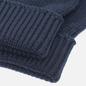 Перчатки Lacoste Green Croc Wool Navy фото - 1