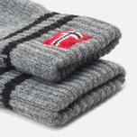 Мужские перчатки Napapijri Fovar Grey Melange фото- 1