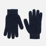 Мужские перчатки Norse Projects Norse Navy фото- 0