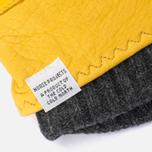 Norse Projects x Hestra Ivar Gloves Misted Yellow photo- 1