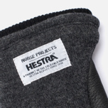 Мужские перчатки Norse Projects x Hestra Svante Charcoal фото- 1