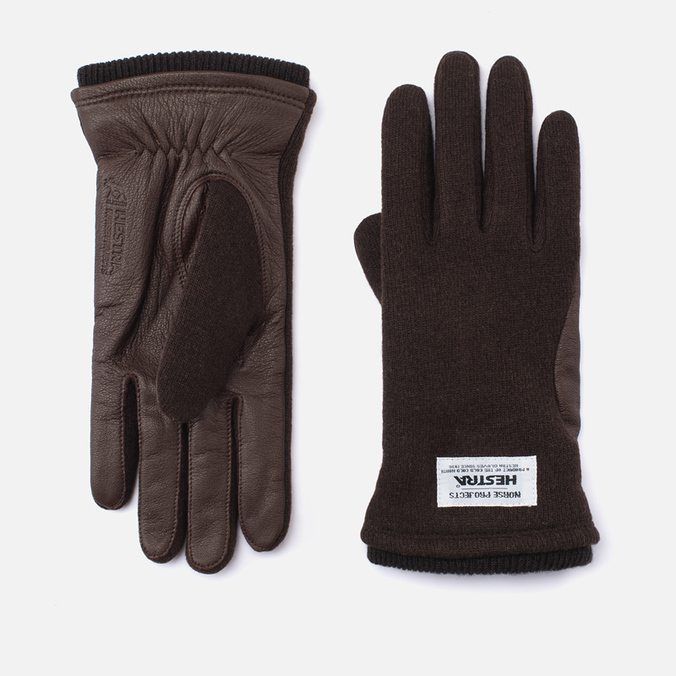 Norse Projects x Hestra Svante Gloves Earth