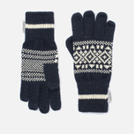 Перчатки Penfield Fairtree Fair Isle Knitted Navy фото- 0