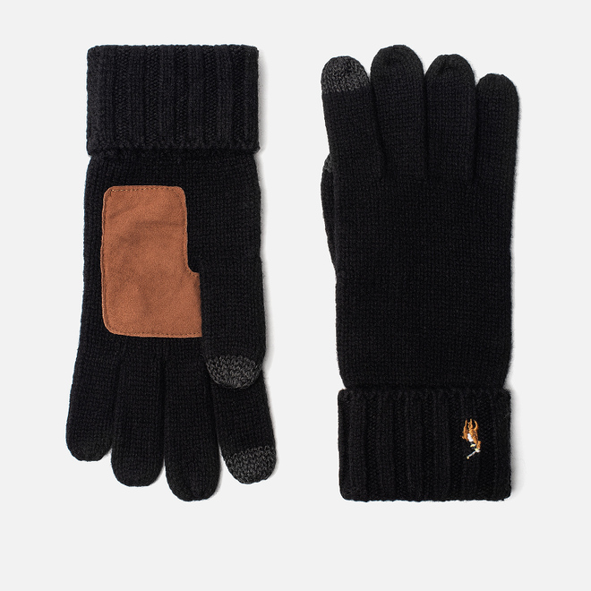 Перчатки Polo Ralph Lauren Signature Merino Wool Black