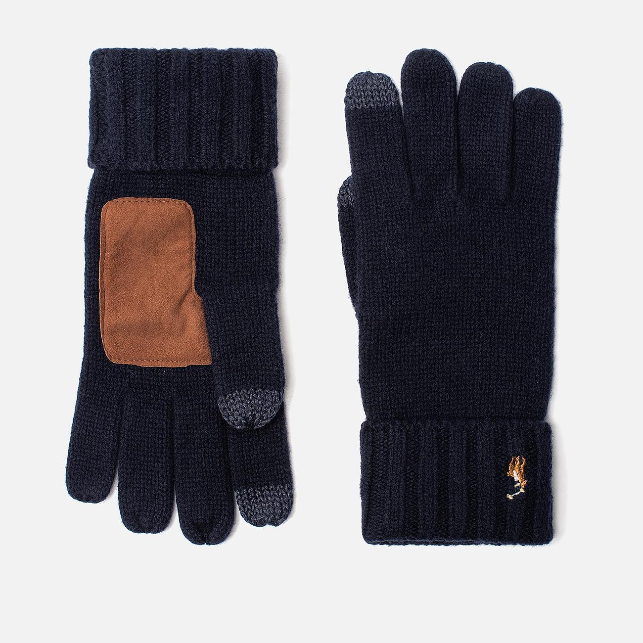 Перчатки Polo Ralph Lauren Signature Merino Wool Hunter Navy