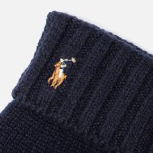 Перчатки Polo Ralph Lauren Signature Merino Wool Hunter Navy фото- 1