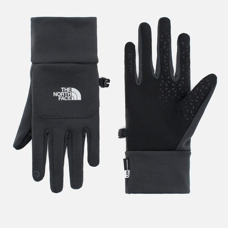The North Face Etip Gloves Grey