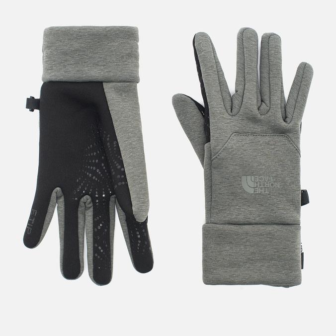 Мужские перчатки The North Face Etip Hardface Fusebox Grey