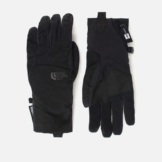 Перчатки The North Face Quatro Windstopper Etip Black