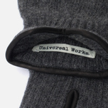 Universal Works Glen Gloves Charcoal  photo- 1