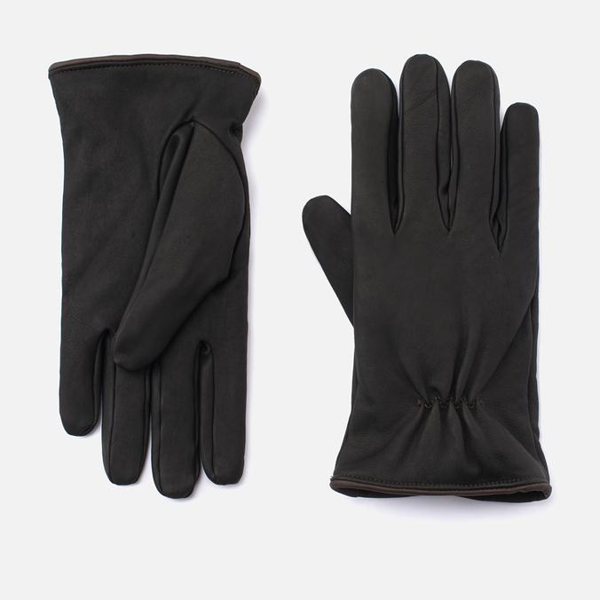 Перчатки Universal Works Tor Black Leather