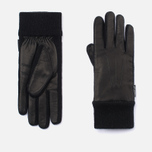 Женские перчатки Hestra Deerskin Sandwich Black фото- 0