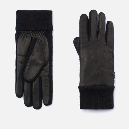 Женские перчатки Hestra Deerskin Sandwich Black