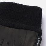 Женские перчатки Hestra Deerskin Sandwich Black фото- 2
