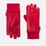 Женские перчатки Hestra Deerskin Sandwich Red фото- 0