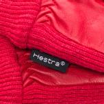 Женские перчатки Hestra Deerskin Sandwich Red фото- 1