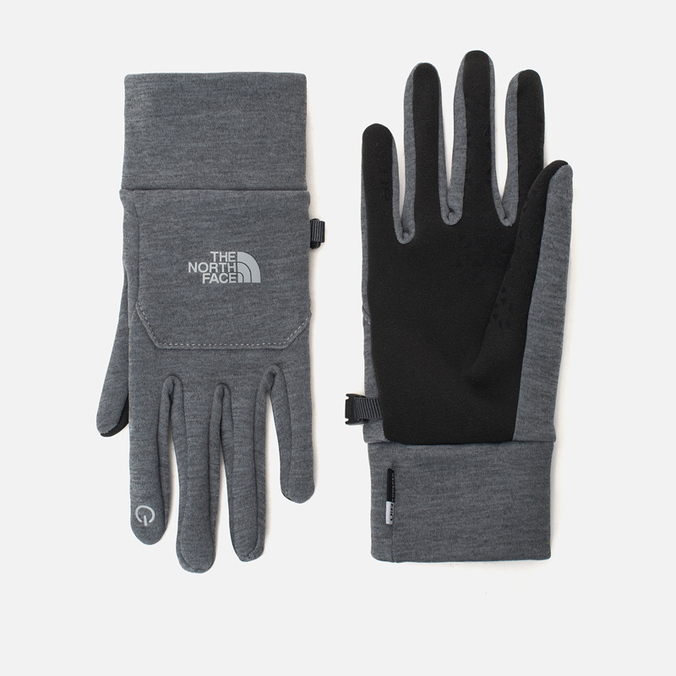 The North Face Etip Women's Gloves Grey Heather