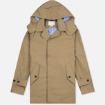 Nanamica GORE-TEX Short Soutien Collar Men`s Coat Beige photo- 0