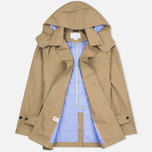 Nanamica GORE-TEX Short Soutien Collar Men`s Coat Beige photo- 1