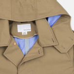 Nanamica GORE-TEX Short Soutien Collar Men`s Coat Beige photo- 2